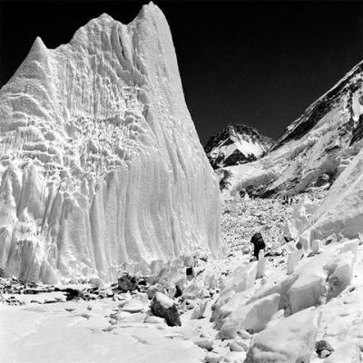 Khumbu glacier 1953
