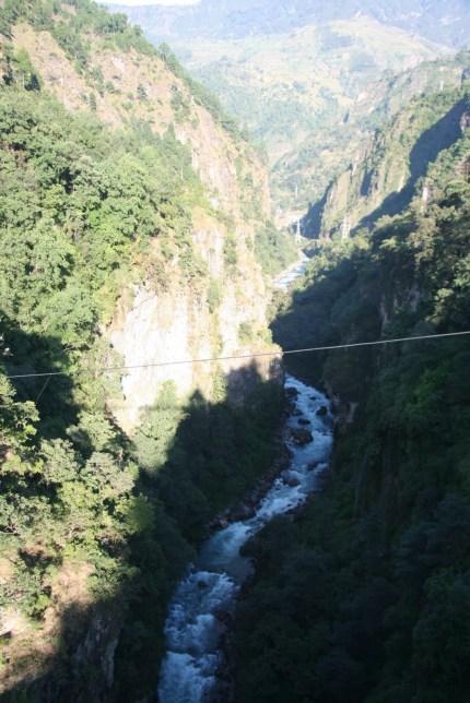 Rongshar gorge