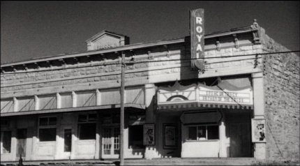 The only picture show in town.