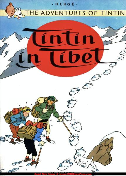 Tintin-In-Tibet cover