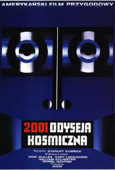 "Polish poster for ""2001: A Space Odyseey"""