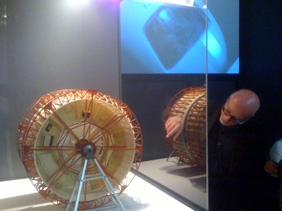 Model of the giant centrifuge set