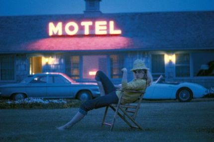 Promotional shot of Sue Lyon by Bert Stern