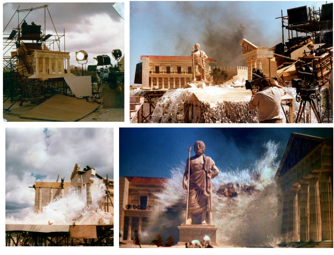"""Miniatures from """"Clash of the Titans"""""""