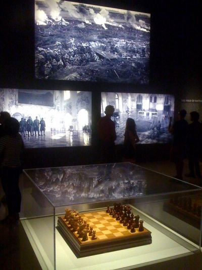 "Kubrick's chess set and ""Paths of Glory"""