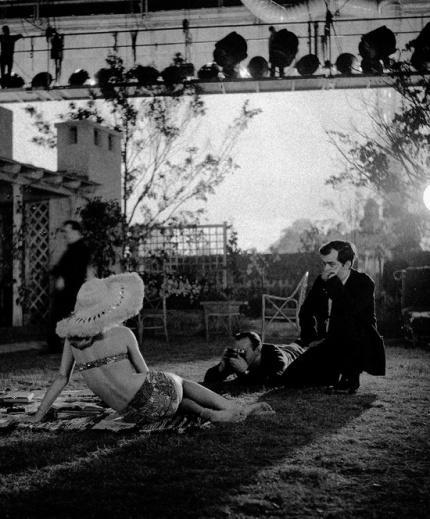 Lolita - kubrick directing Sue Lyon