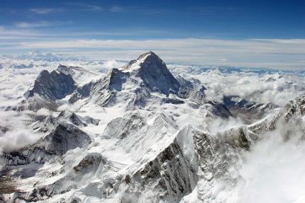 Makalu from Everest summit