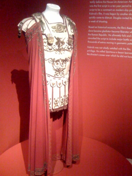 Costume for Crassus (Laurence Olivier)