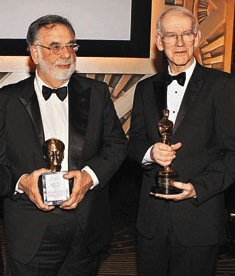 Coppola and Brownlow on Oscar night