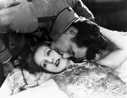John Gilbert and Greta Garbo in Flesh and the Devil (1926)