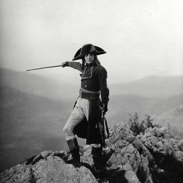 Napoleon - Dieudonne on mountain