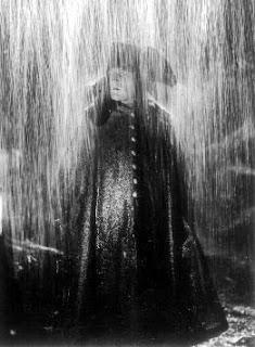 Napoleon in rain