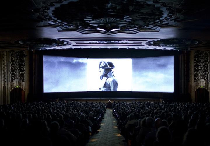 Napoleon at the Paramount Theatre, Oakland, 2012 (Photo: Pamela Gentile)
