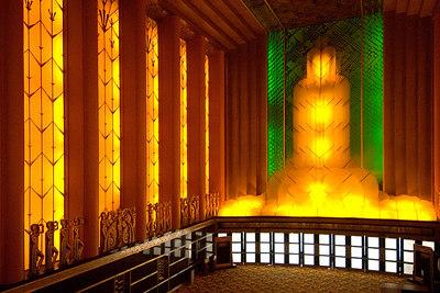 Paramount theater lobby