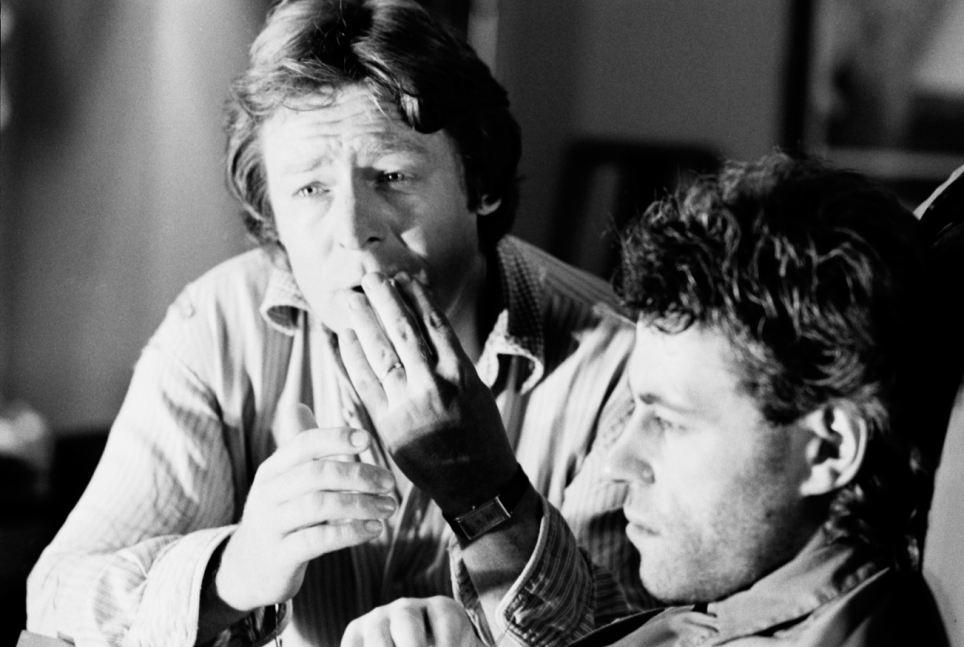 Alan Parker directing Bob Geldof in Pink Floyd The Wall (1982)