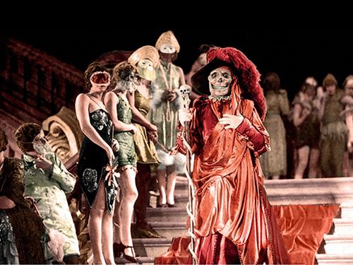 The Phantom arrives at the Ball, Phantom of the Opera (1925)