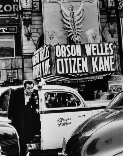 Kane marquee w: welles
