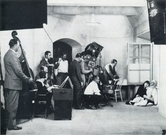 Silent movie musicians