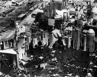Sets for Thief of Baghdad (1924)