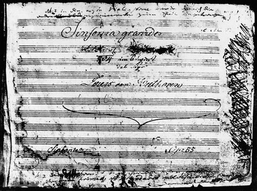 eroica title page