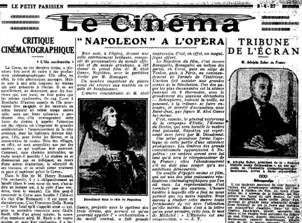 Napoleon newspaper review