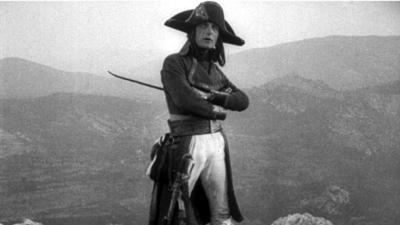napoleon on mountain ridge