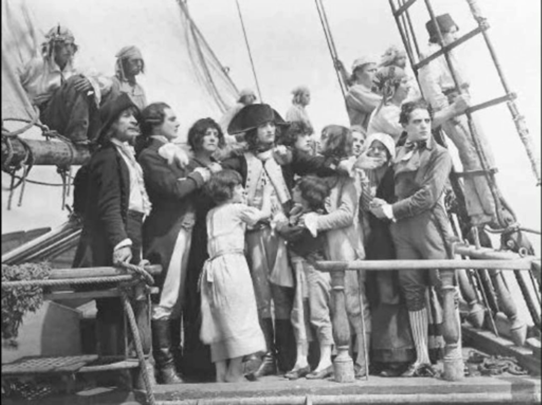 Napoleon on ship