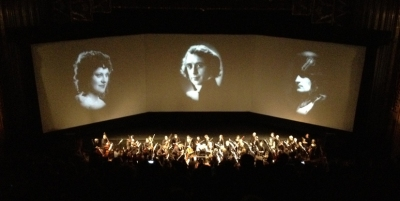 Napoleon w: orchestra @Paramount