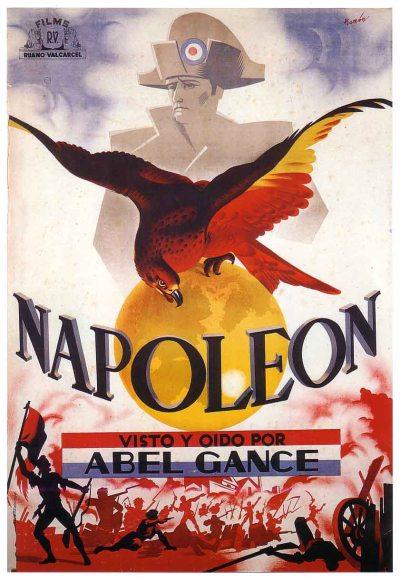 poster italian napoleon gance