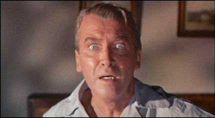 Vertigo Jimmy Stewart after nightmare