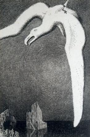 Mariner death of albatross by Peake