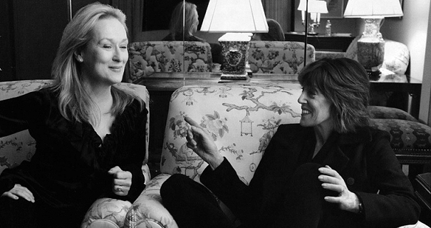 Nora Ephron and Meryl Streep