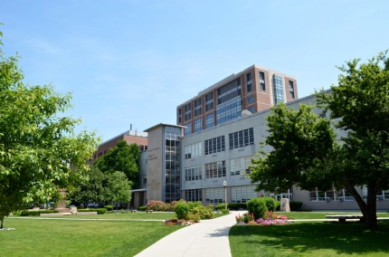 BU's College of Communication which housed WBUR
