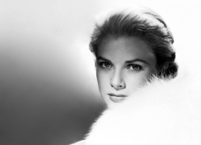 Grace Kelly b&w