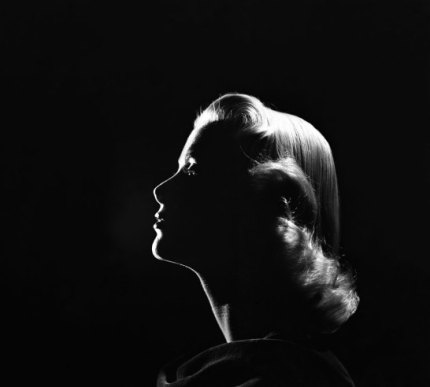 Grace Kelly silhouette in LIFE