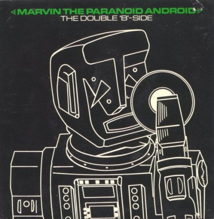 Marvin+the+Paranoid+Android single cover