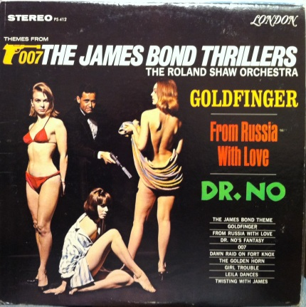 Roland Shaw - the James Bond thrillers