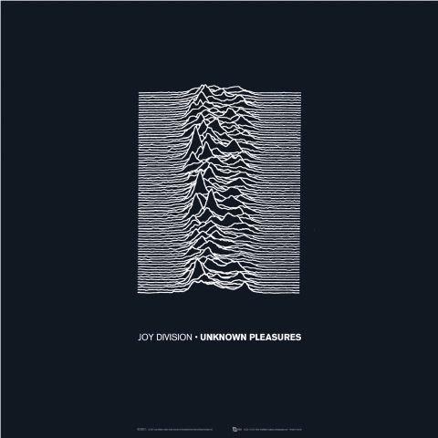 Joy Division Unknown Pleasures cover