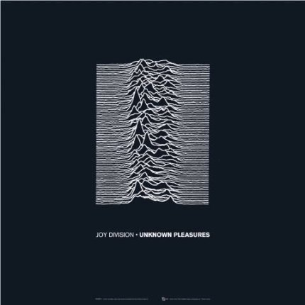 Joy Division Unknown Pleasures cover