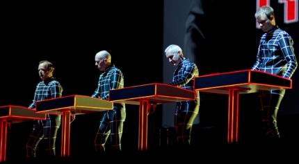 Kraftwerk onstage current