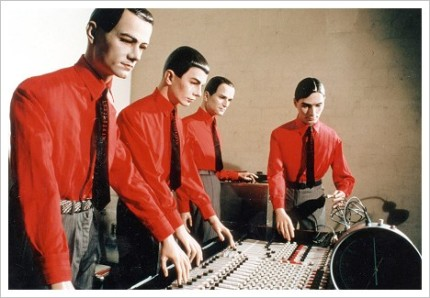 kraftwerk robots with instruments