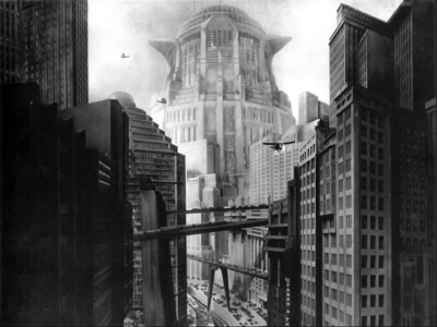 The Tower of Babel in Metropolis
