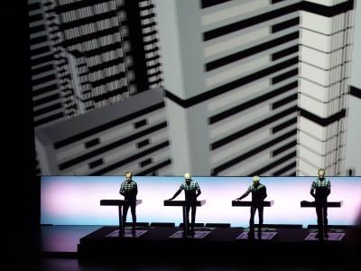 Kraftwerk performing Metropolis