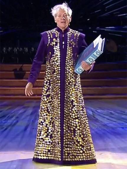 """I'll drown my book...."" McKellen as Prospero at the opening of the London Paralympics"