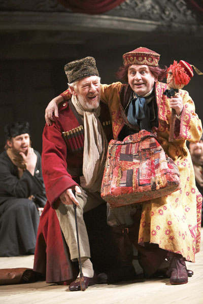 King Lear, with Sylvester McCoy (aka Doctor Who) as the Fool