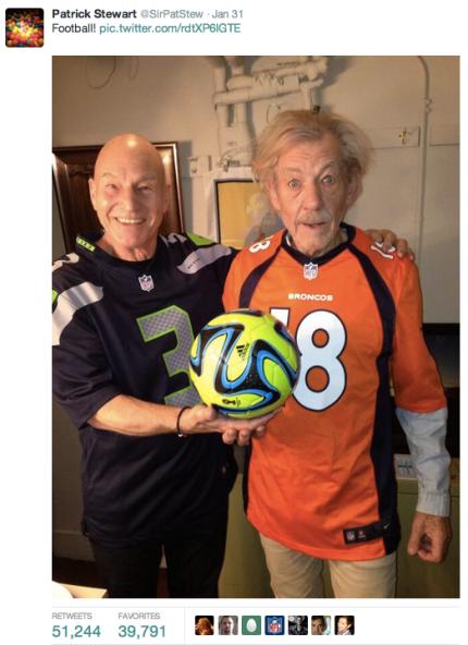 McKellen - Stewart Super Bowl