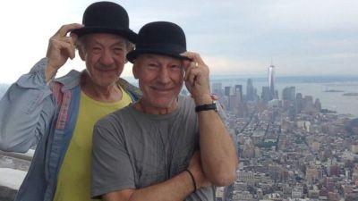 Patrick Stewart Ian McKellen Empire State