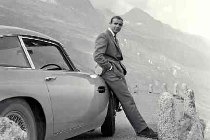 Bond Connery aston martin Goldfinger