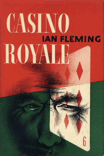 Cover for first American edition of Ian Fleming's novel