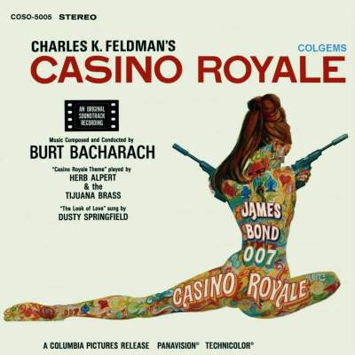 Casino Royale record cover